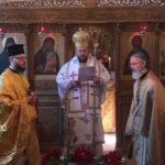 La liturgie a été présidée par notre Métropolite Maxime