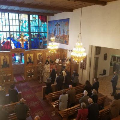Η Πανήγυρις της Ενορίας των Αγίων Κωνσταντίνου και Ελένης στην πόλη St. Gallen της Ελβετίας