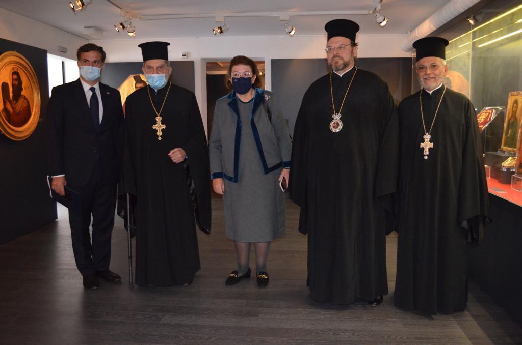 Η Υπουργός Πολιτισμού της Ελλάδος στο Ορθόδοξο Κέντρο του Οικομενικού Πατριαρχείου στο Σαμπεζύ